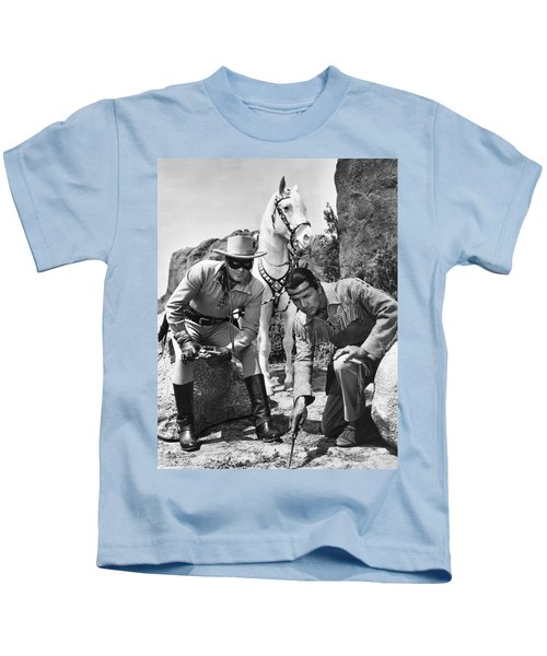 The Lone Ranger And Tonto Kids T-Shirt