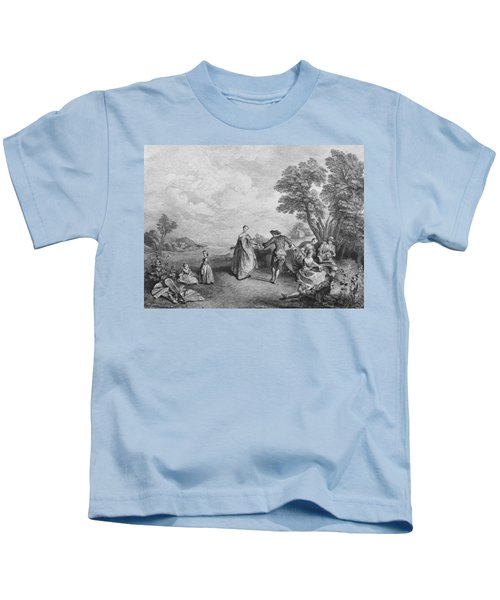The Pleasures Of The Countryside Kids T-Shirt