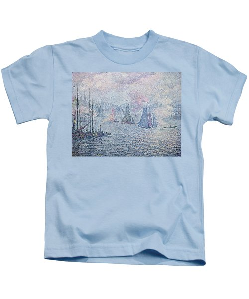 The Port Of Rotterdam, Or The Fumes Kids T-Shirt