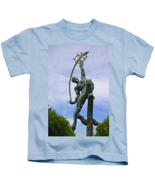 The Rocket Thrower Kids T-Shirt