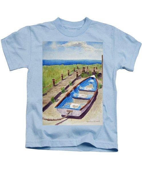 The Sandy Boat Kids T-Shirt