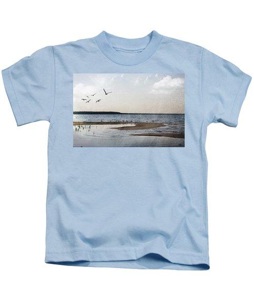 The Shallows At Whitefish Bay Kids T-Shirt