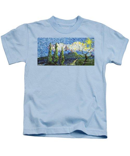 The Shores Of Dreams Kids T-Shirt