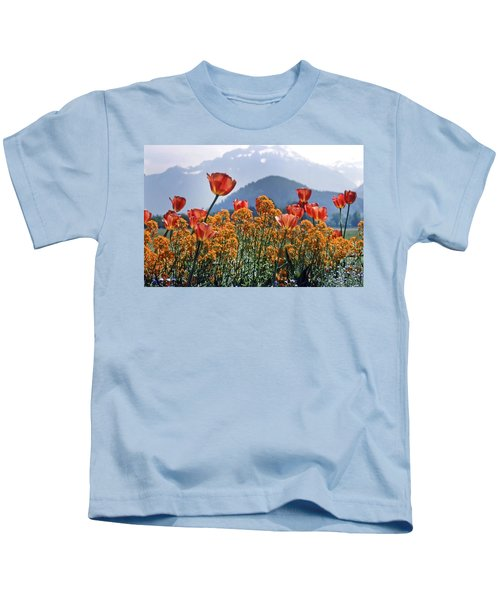 The Tulips In Bloom Kids T-Shirt