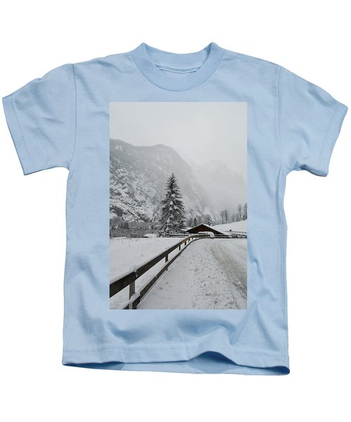 The Winter Is Here Kids T-Shirt