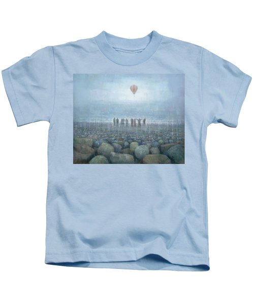 To The Mountains Of The Moon Kids T-Shirt