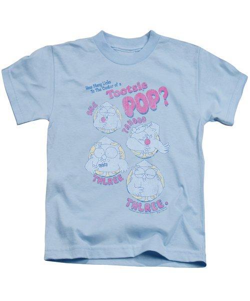 Tootsie Roll - Three Kids T-Shirt