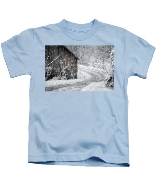 Touched By Snow Kids T-Shirt