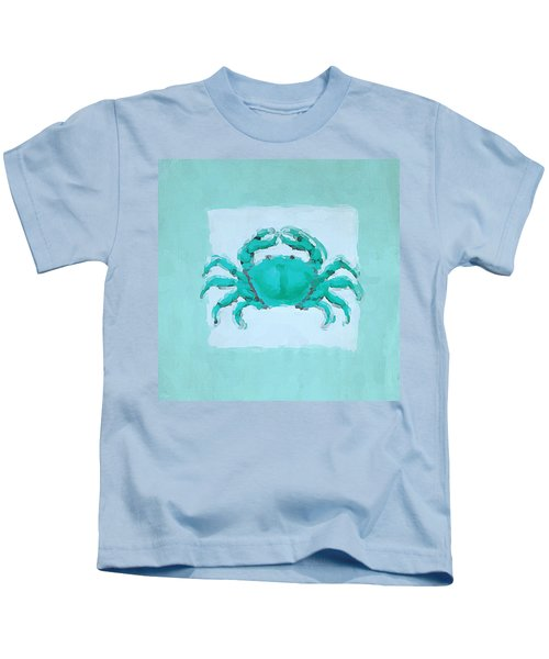 Turquoise Seashells I Kids T-Shirt