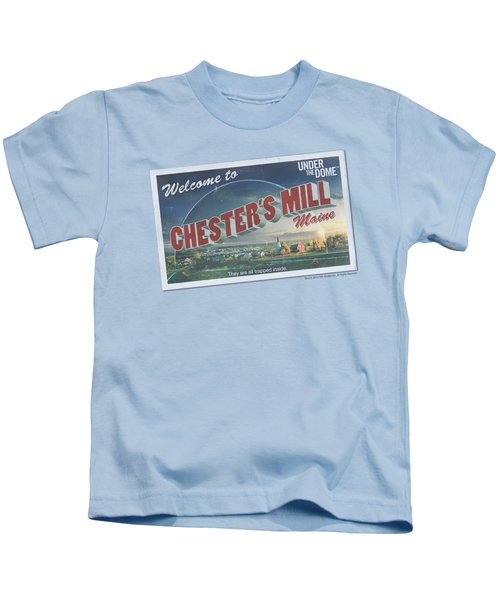 Under The Dome - Postcard Kids T-Shirt