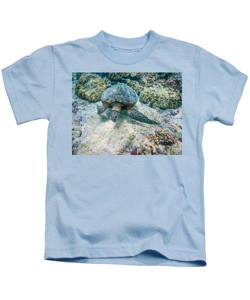 Swimming Turtle Kids T-Shirt