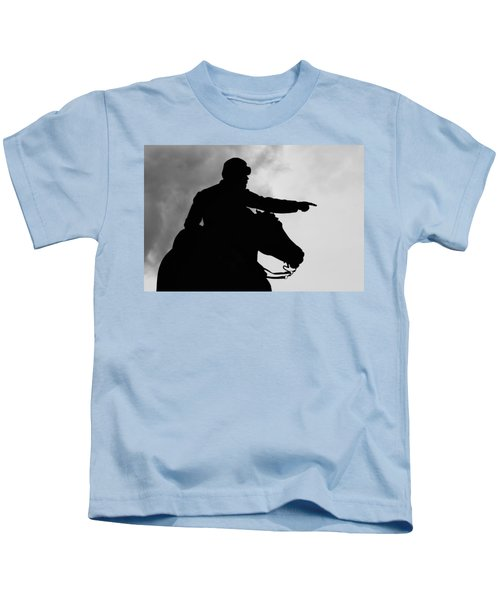 Union Silhouette  Kids T-Shirt