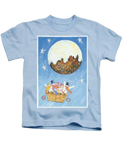 Up, Up And Away  Kids T-Shirt