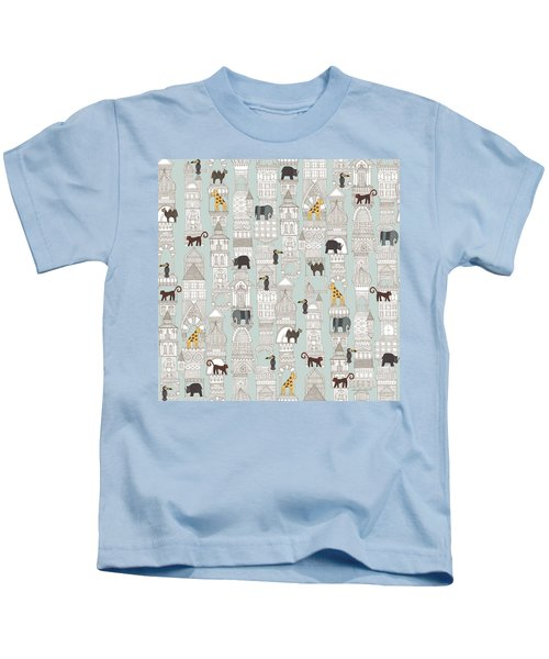 Urban Jungle Silver Kids T-Shirt