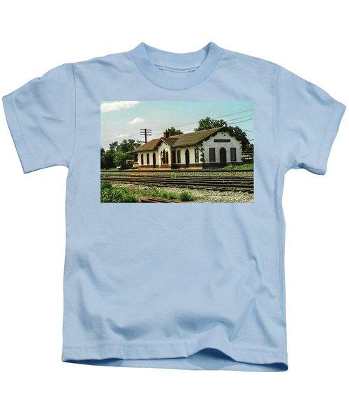 Villisca Train Depot Kids T-Shirt