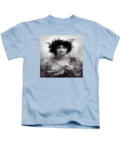 Vintage Lady Kids T-Shirt