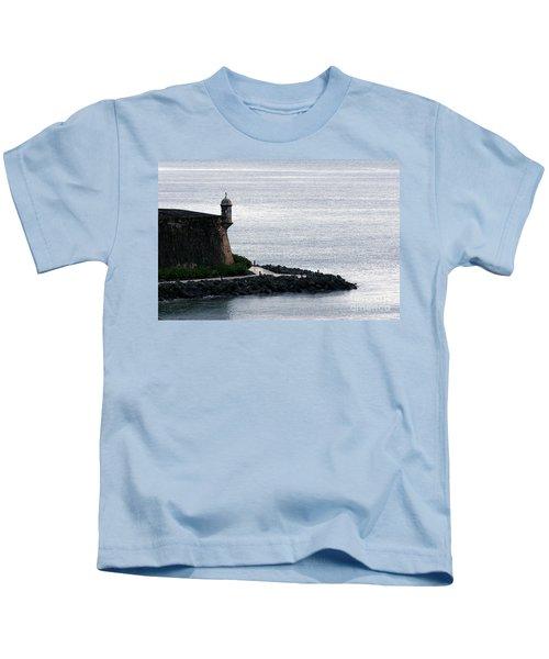 Vista De La Garita Kids T-Shirt