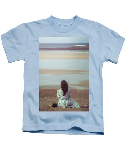 Waiting For High Tide Kids T-Shirt