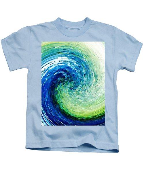 Wave To Van Gogh Kids T-Shirt