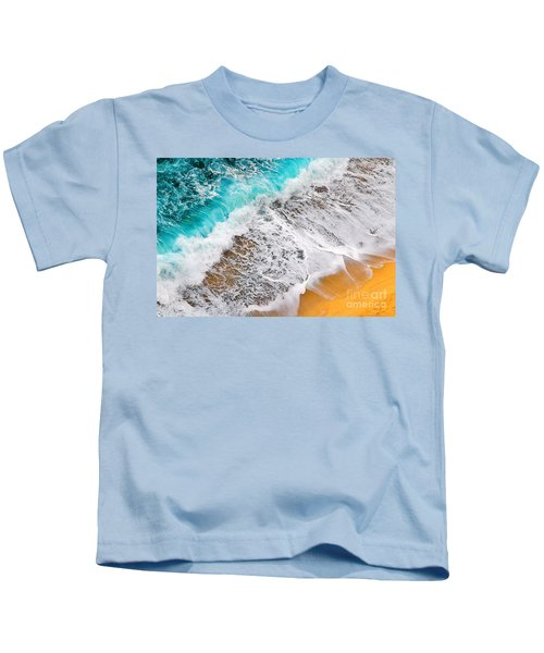 Waves Abstract Kids T-Shirt
