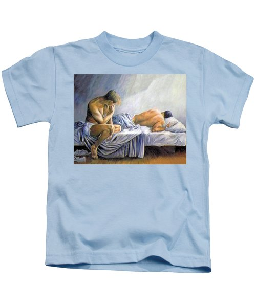 What Is He Dreaming Kids T-Shirt