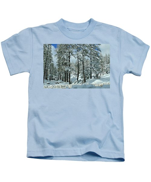 Whispering Snow Kids T-Shirt