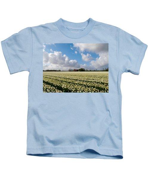 White Field Kids T-Shirt