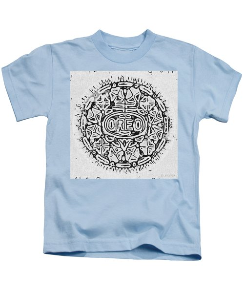 White Oreo Kids T-Shirt