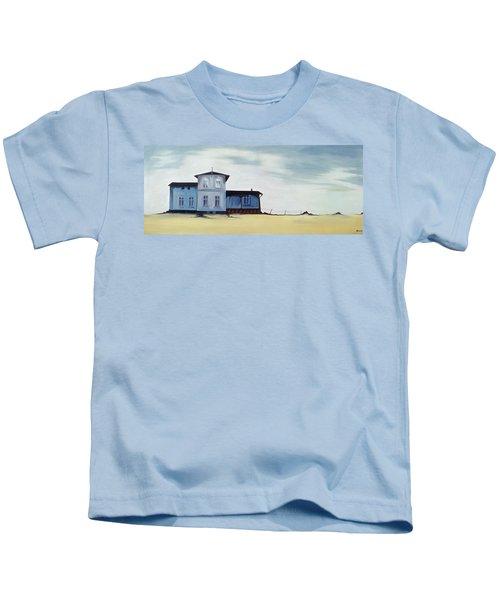 Wide Blue Kids T-Shirt