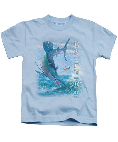 Wildlife - Leaping Sailfish Kids T-Shirt