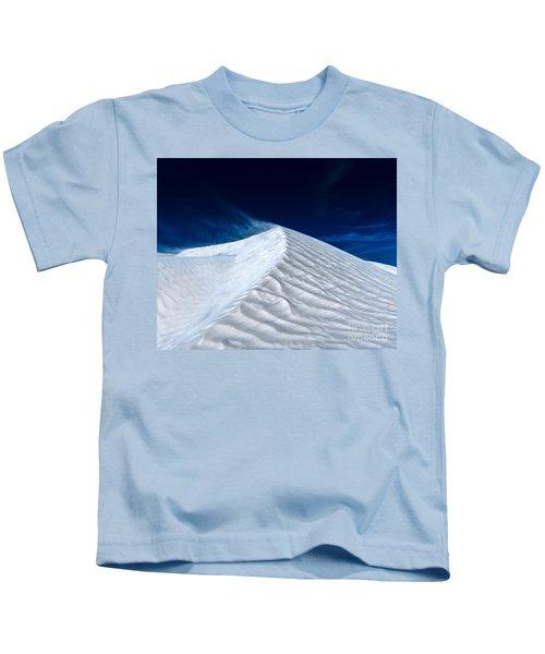 Wind Over White Sands Kids T-Shirt