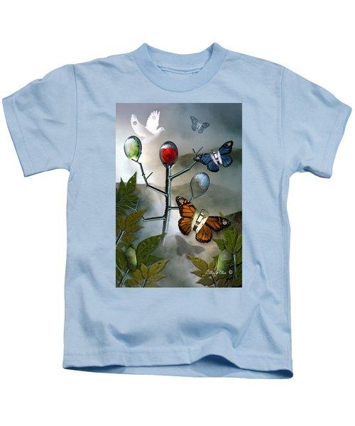 Winged Metamorphose Kids T-Shirt