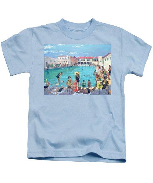 Winter In Florida Kids T-Shirt