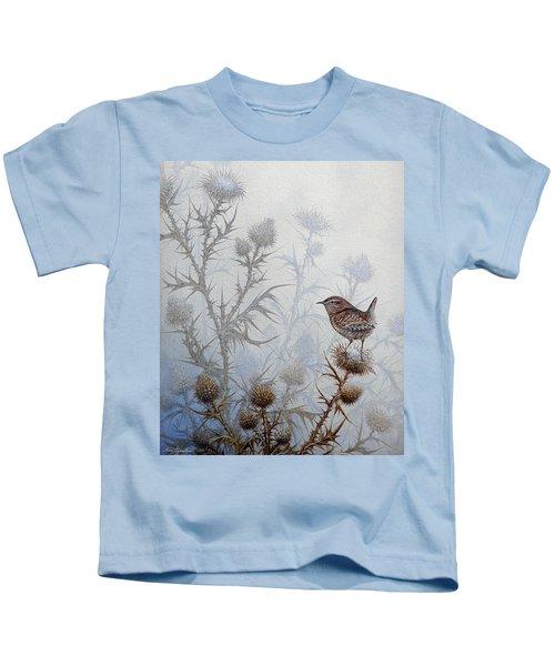Winter Wren Kids T-Shirt