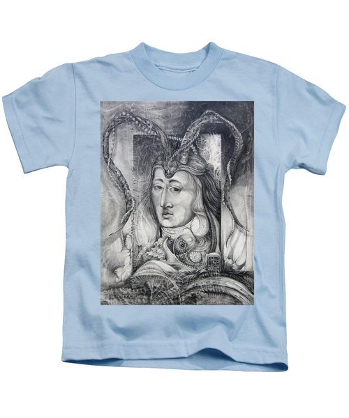 Wizard Of Bogomil's Island - The Fomorii Conjurer Kids T-Shirt