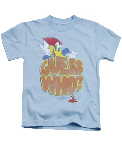 Woody Woodpecker - Guess Who Kids T-Shirt
