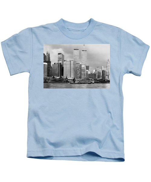 New York City - World Trade Center - Vintage Kids T-Shirt