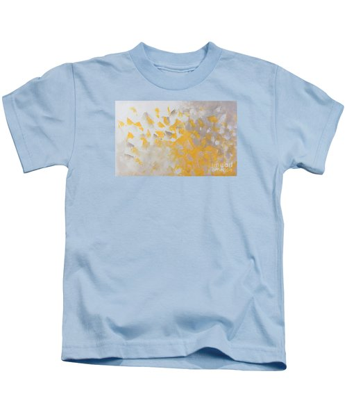 Yellow Cloud Kids T-Shirt