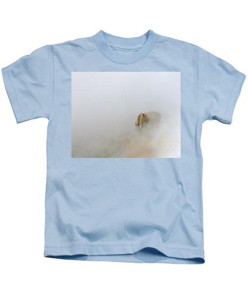 Yellowstone Bison Kids T-Shirt