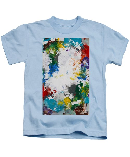 Yes Abstract Kids T-Shirt