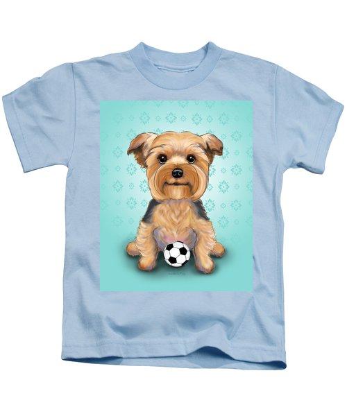 Yorkie  Baxter Hemenway Kids T-Shirt