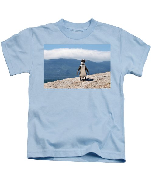 African Penguin Kids T-Shirt