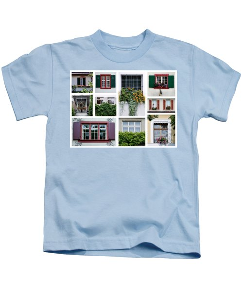Swiss Windows Kids T-Shirt