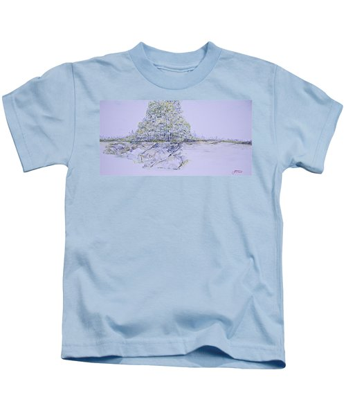 A Day In Central Park Kids T-Shirt