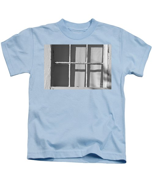 Abstract Window In Light And Shadow Kids T-Shirt