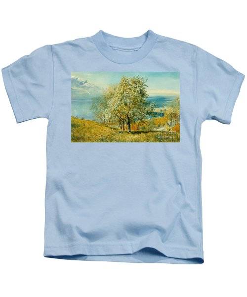 An Alpine Lake Kids T-Shirt