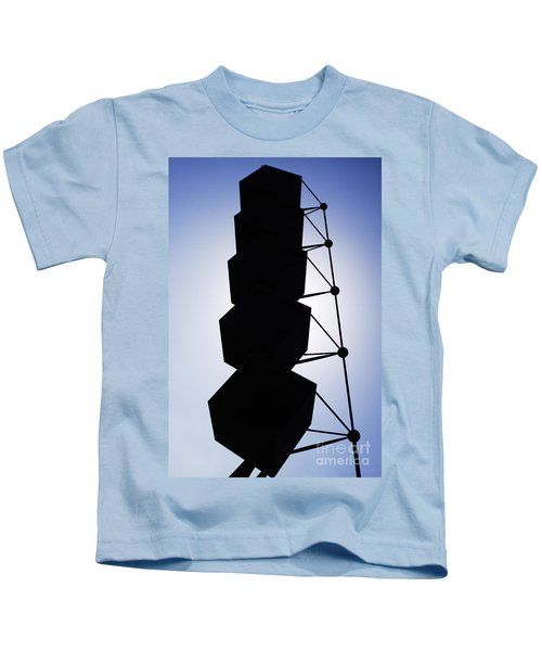 Backlight Structure Kids T-Shirt