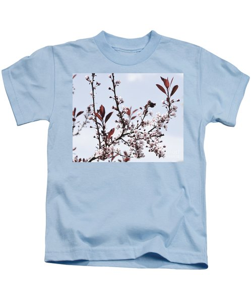Blossoms In Time Kids T-Shirt