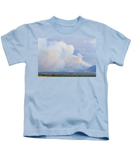 Flagstaff Fire Day One 6pm Kids T-Shirt