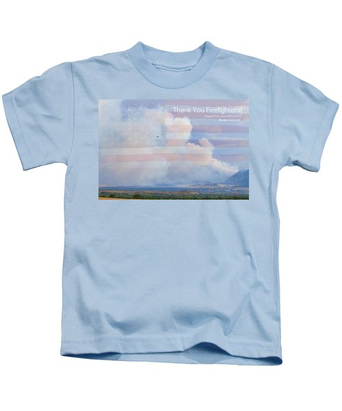 Flagstaff Fire  Thank You Firefighters Kids T-Shirt